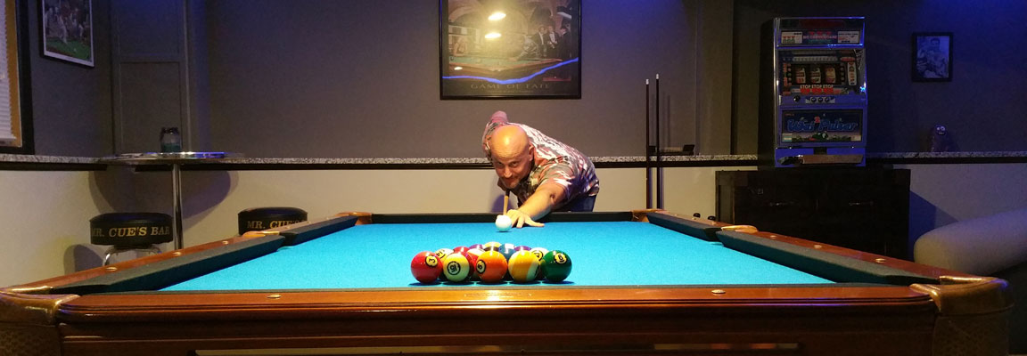 Mr Cues Billiards Home - Brunswick manchester pool table